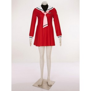 CardCaptor Sakura Sakura Kinomoto Red Cosplay Costume