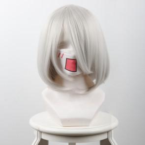 Grey 38cm Nier: Automata 2B Cosplay Wig