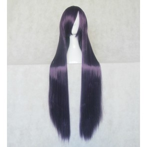 Purple 100cm Baka to Test to Shoukanjuu Baka and Test Shoko Kirishima Cosplay Wig