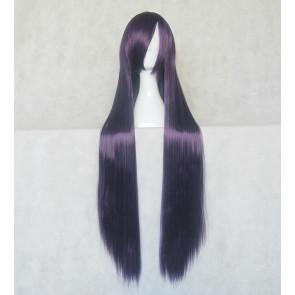 Purple 100cm Baka to Test to Shoukanjuu Baka and Test Shoko Kirishima Cosplay Wig
