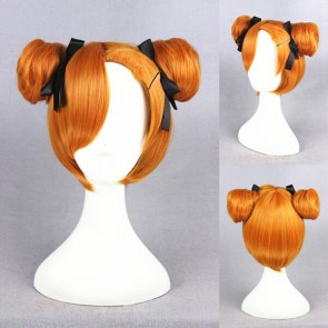 Orange 32cm Love Live! Honoka Kosaka January Ver. Cosplay Wig