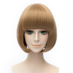 Blonde 30cm Touken Ranbu Maeda Toushirou Cosplay Wig