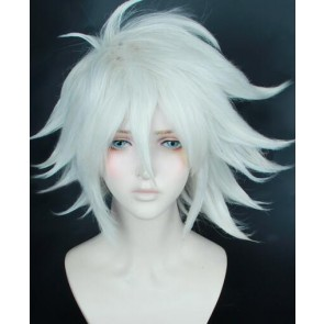 Silver 35cm Fate/Grand Order Karna Cosplay Wig