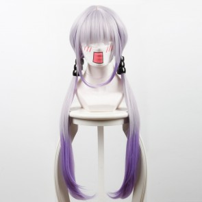 Grey Purple 85cm Miss Kobayashi's Dragon Maid Kanna Kamui Cosplay Wig