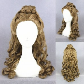 Brown 55cm Cinderella Cosplay Wig
