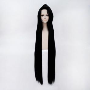 Black 110cm Touken Ranbu Jiroutachi Cosplay Wig