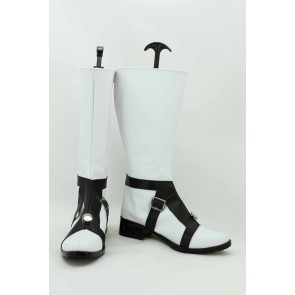 JoJo'S Bizarre Adventure Part 5 Vento Aureo Guido Mista White Cosplay Boots