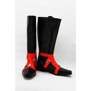 JoJo'S Bizarre Adventure Part 5 Vento Aureo Guido Mista Black Cosplay Boots