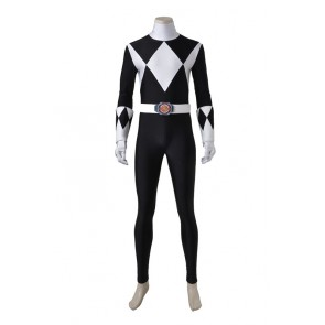 Power Rangers Zack/Black Ranger Cosplay Costume