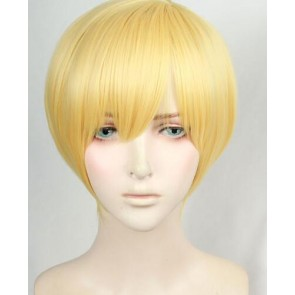 Gold 30cm ACCA: 13-Territory Inspection Dept. Jean Otus Cosplay Wig