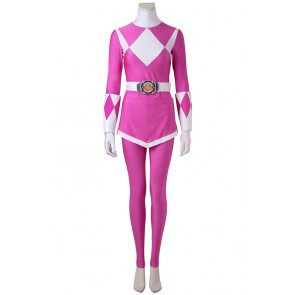 Power Rangers Kimberly Hart/Pink Ranger Cosplay Costume