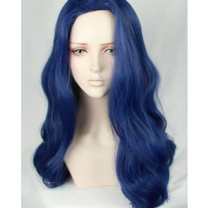 Blue 60cm ACCA: 13-Territory Inspection Dept. Mauve Cosplay Wig