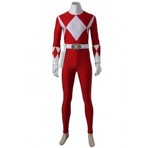 Power Rangers Jason Scott/Red Ranger Cosplay Costume