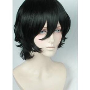 Black 35cm ACCA: 13-Territory Inspection Dept. Lilium Cosplay Wig