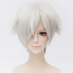 Silver and Grey 30cm Death Parade Decim Cosplay Wig