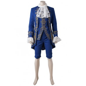2017 Movie Beauty and the Beast Beast Cosplay Costume