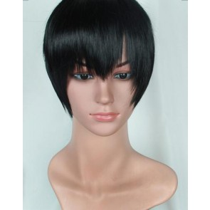 Black 30cm Yuri!!! on Ice Phichit Chulanont Cosplay Wig