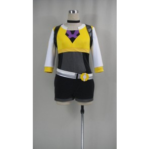 Pokemon Go Female Trainer Yellow Cosplay costume