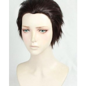 Dark Brown 30cm Welcome to the Ballroom Tatara Fujita Cosplay Wig