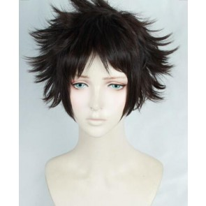 Dark Brown 30cm Welcome to the Ballroom Tatara Fujita Cosplay Wig Version 2