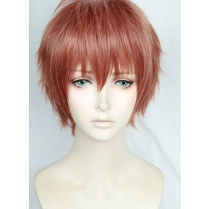 Red Brown 30cm Welcome to the Ballroom Kiyoharu Hyodo Cosplay Wig