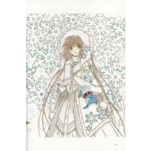 Kobato. Kobato Hanato White Winter Dress Cosplay Costume