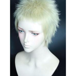 Gold 30cm Welcome to the Ballroom Kaname Sengoku Cosplay Wig