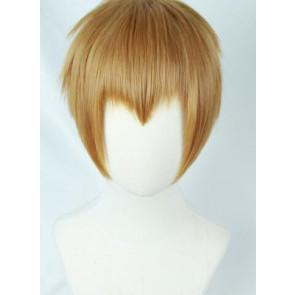Brown 30 Mob Psycho 100 (Mobu Saiko Hyaku) Arataka Reigen Cosplay Wig