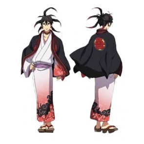 Laughing Under the Clouds Tenka Kumo Cosplay Costume