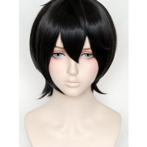 Gray Black 30cm Ensemble Stars Ritsu Sakuma Cosplay Wig