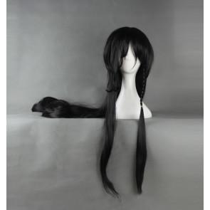 Black 120cm Touken Ranbu Izuminokami Kanesada Cosplay Wig