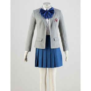 Monthly Girls' Nozaki-kun Chiyo Sakura School Uniform Cosplay Costume