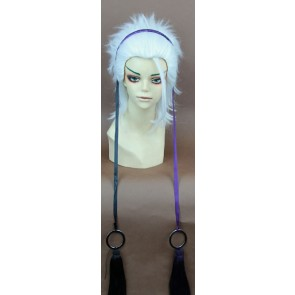 White Laughing Under the Clouds Shirasu Kinjo Cosplay Wig