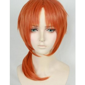 Orange 40cm Ensemble Stars Leo Tsukinaga Cosplay Wig