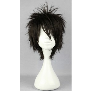 Black 30cm Laughing Under the Clouds Soramaru Kumo Cosplay Wig
