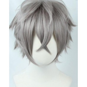 Grey 30cm Ensemble Stars Koga Oogami Cosplay Wig