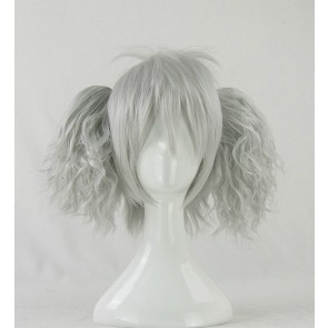 Silver 35cm Darker than Black Yin Cosplay Wig