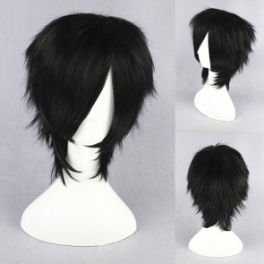 Black 32cm Darker than Black Hei Cosplay Wig