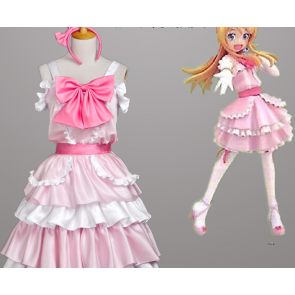 Oreimo Kirino Kosaka Pink Cosplay Dress