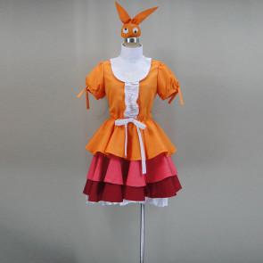 Monogatari Yotsugi Ononoki Cosplay Costume