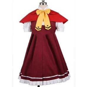 Okami-san Ringo Akai Cosplay Costume