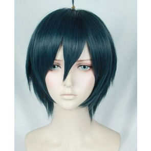 Dark Blue 30cm Danganronpa V3: Killing Harmony Shuichi Saihara Cosplay Wig