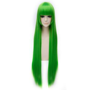 Green 100cm Fox Spirit Matchmaker Tushan Rongrong Cosplay Wig