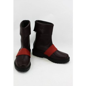Gurren Lagann Simon Faux Leather Cosplay Boots