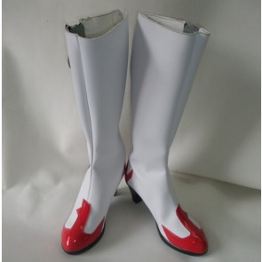 Gurren Lagann Yoko Littner Faux Leather Cosplay Boots