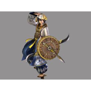 Sengoku Musou 3 Samurai Warriors 3 Hanbei Takenaka Cosplay Costume