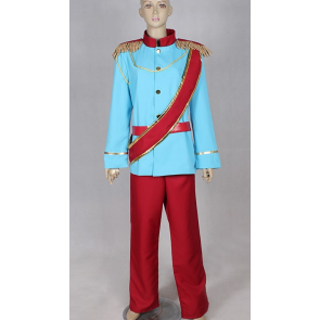 Cinderella Prince Charming Cosplay Costume