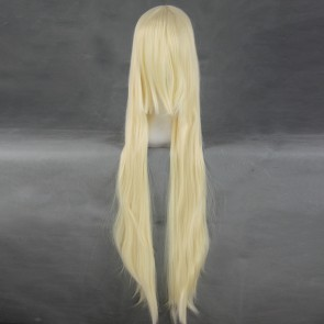 Golden 100cm Chobits Chii Cosplay Wig