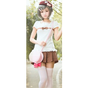 "The ""Hentai"" Prince and the Stony Cat. Tsukiko Tsutsukakushi Cosplay Costume"