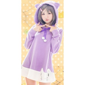 "The ""Hentai"" Prince and the Stony Cat. Tsukiko Tsutsukakushi Coat Cosplay Costume"